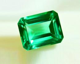 1.56 ct Enchanting Top Clarity Top Grade Color Emerald Certified!