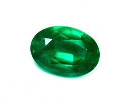 2.20 ct Majestic Zambian Emerald Certified!