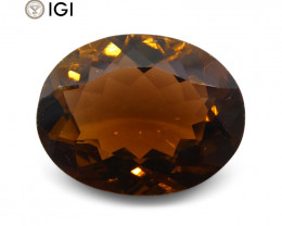 9.62 ct Tourmaline Oval IGI Certified