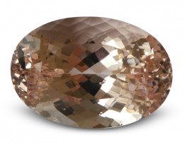23.81 ct Morganite Oval IGI Certified