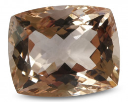 17.3 ct Morganite Cushion IGI Certified