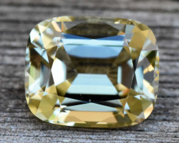 3.42cts Tourmaline - Soft Yellow (RTO214)