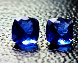 2.10 CT Natural - - Unheated  Blue Color Change Fluorite Faceted Gemstone P