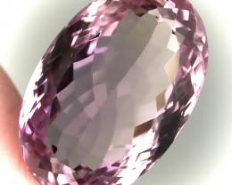 26.00ct Pink Mauve Amethyst VVS Gem No reserve