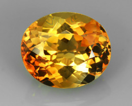 11.50 cts Excellent oval cut Brazilian Champion Topaz Gemstone