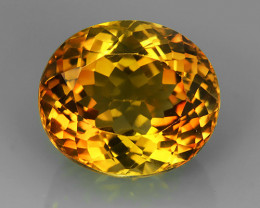 15.25 cts Excellent oval cut Brazilian Champion Topaz Gemstone