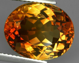 12.20 cts Wonderful oval cut Brazilian Champion Topaz Gemstone