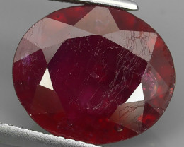 7.85 CTS. NICE NATURAL RUBY TOP LUSTER BLOOD COLOUR