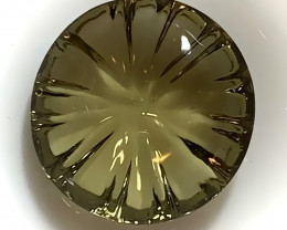 UNIQUE CUT Smokey Citrine - what a stunner! VVS TOP GRADE LUSTER NR