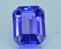AAA Grade 3.23 ct Tanzanite eye catching Color SKU.14