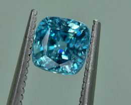 1.28 Crt Natural Zircon Faceted Gemstone.( AG 41)