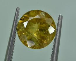 2.27 Crt Natural Malayaite Sphene Faceted Gemstone.( AG 41)
