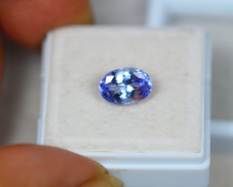 2.29ct Violet Blue Tanzanite Oval Cut Lot GW3698