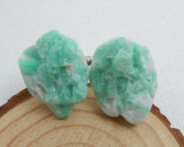 Mens cufflinks, Wedding cufflinks ,Gemstone accessories, Beautiful Emerald