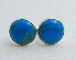 Mens Cufflinks,  Cufflinks ,Gemstone accessories, Blue Opal Cufflinks C468