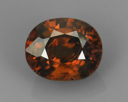 3.40 CTS DAZZLING NATURAL RARE TOP LUSTER INTENSE  ZIRCON