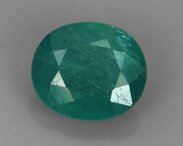 1.70 Cts World's Rarest Gem Oval Natural Green Grandidierite Wonderful!