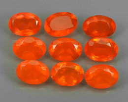 4.90 CTS BEST QUALITY~TOP COLOR EXTREME WONDER LUSTROUS GENUINE FIRE OPAL!