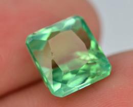 4.10 Ct Green Spodumene Gemstone From Afghanistan~ AA