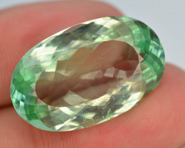 19.35 Ct Green Spodumene Gemstone From Afghanistan~ AA