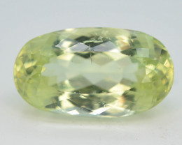 11.20 Ct Yellow Triphane Gemstone From Afghanistan~ AA