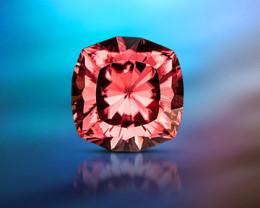 9.27 ct Pink/Red Zircon - Master Cut!