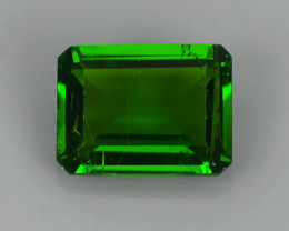 1.50 CTS NATURAL ULTRA RARE CHROME GREEN DIOPSIDE RUSSIA