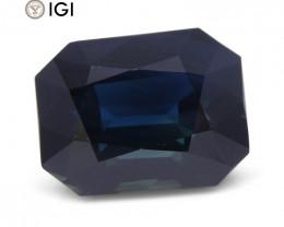 17.16 ct Sapphire Emerald Cut IGI Certified Ethiopian, Unheated