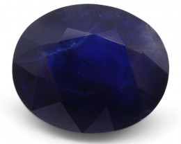 10.62ct Unheated Sapphire IGI Certified- $1 No Reserve Auction