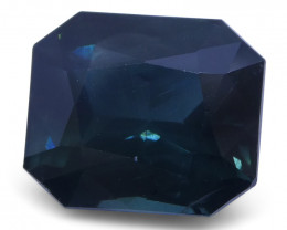 $1 NR Auction 6.25ct Unheated Sapphire, IGI Certified with Inscription