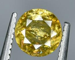 0.71 Crt Natural Malayaite Sphene Faceted Gemstone.( AG 42)