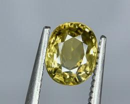 1.32 Crt Natural Chrysoberyl Faceted Gemstone.( AG 42)
