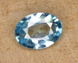 Natural Blue Zircon 1.41 Cts Top Luster Gemstone