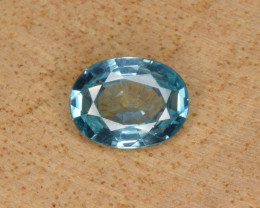 Natural Blue Zircon 1.56 Cts Top Luster Gemstone