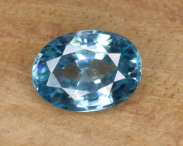 Natural Blue Zircon 1.92Cts Top Luster Gemstone