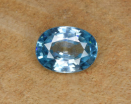 Natural Blue Zircon 1.93 Cts Top Luster Gemstone
