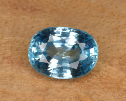 Natural Blue Zircon 2.36 Cts Top Luster Gemstone