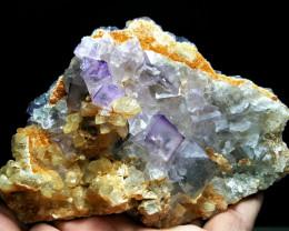 Amazing Fluorite combine with Calcite 2015 Cts - Pakistan