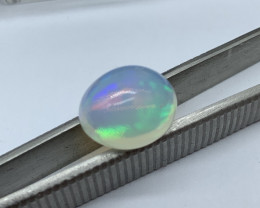 Opal Cabochon - 5.29 carats Cut Oval IPGTL Certificated