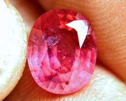 4.90 Carat Fiery Red Ruby - Gorgeous