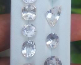 33.35 carats morganite Gemstones parcel No reserve
