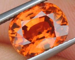 4.35cts Vivid Orange Zircon