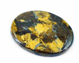 Genuine 70.00 Cts Bronzite Oval Shape Cabochon