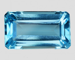 10.67 Ct Awesome Topaz Excellent Luster & Color Gemstone TP19