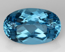 9.56 Ct Awesome Topaz Excellent Luster & Color Gemstone TP21
