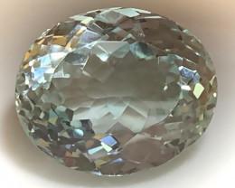 Superb Blue Green Natural Topaz 15.80ts VVS gem