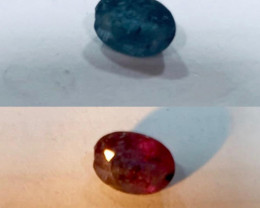Alexandrite Oval Shape Excellent  Color Change Stone 0.49ct (SKU 1)