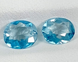 2.75Crt Blue Zircon Natural Gemstones JI34