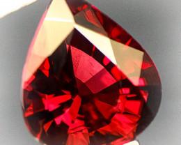 Pink Red 2.66ct Madagascan Rhodolite Garnet - VVS clarity NR