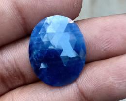 GENUINE BLUE SAPPHIRE ROSE CUT GEMSTONE NATURAL+UNTREATED VA5237